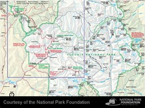sequoia national park map 308 x