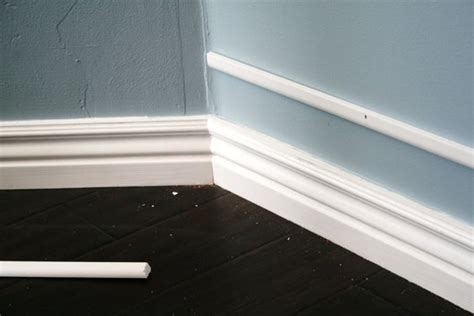 baseboard height add height to existing baseboard by attaching narrow above it and painting the space