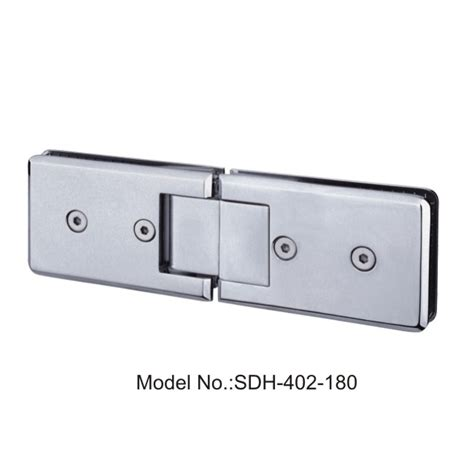 180 Degree 108x70mm Shower Door Hinges Glass To Glass Glass Shower Door Hinges