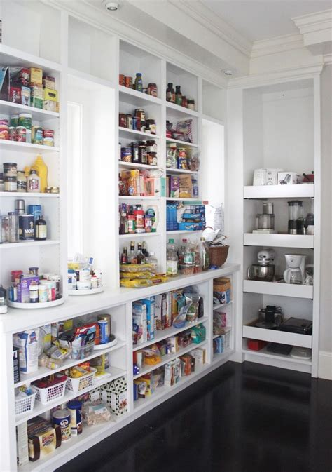 open kitchen pantry shelving interior exterior doors