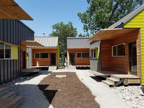 Cottage Dallas by Dallas Is Placing 50 Homeless Residents In Tiny Homes Kera News