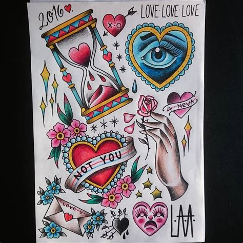 tattoo love flash valentines flash available throughout the next few weeks