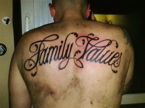 Family Values Tattoo | 25 stunning family tattoo design exles colorlava