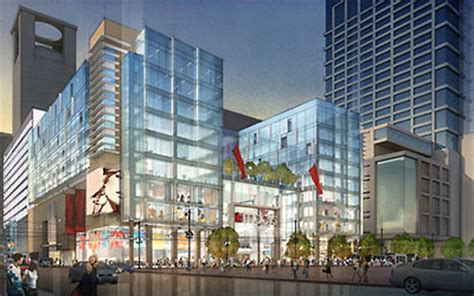 Macy S Furniture Houston by Hilcorp Shows Employees The 20 Story Tower Replacing The