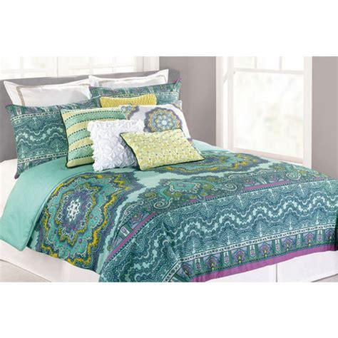 nanette lepore paisley medallion king size comforter