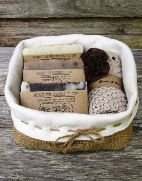 Handmade Soap Gift Baskets - gift pack gift basket soap gift set handmade soap
