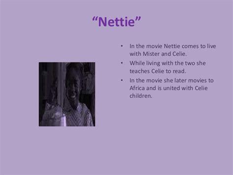 nettie in the color purple book the color purple