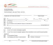 Vorlage Antrag Freistellung Schule Befreiung Gymnasium Kirchheim