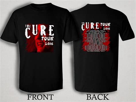 T Shirt 2016 the cure 2016 tour t shirt size s m l xl 2xl 3xl