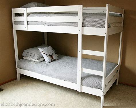 White Bunk Beds Ikea Best 20 Ikea Bunk Bed Ideas On