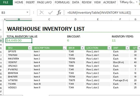warehouse layout template excel warehouse inventory excel template