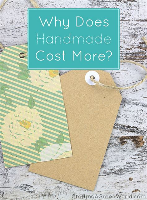 How To Price Handmade Items - explaining handmade pricing to your customers