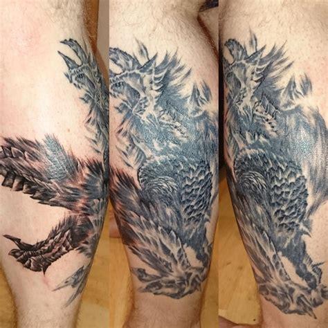monster hunter tattoo zinogre update mk3 one session to go monsterhunter