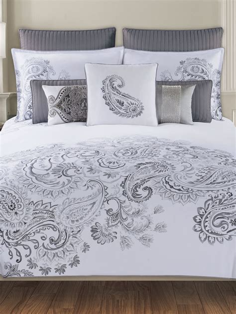 tahari home king comforter set tahari home dragon paisley bedding dream home