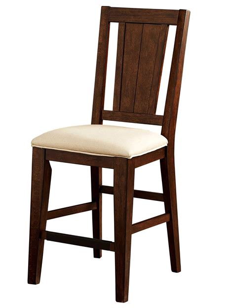 broyhill furniture attic rustic splat back counter stool