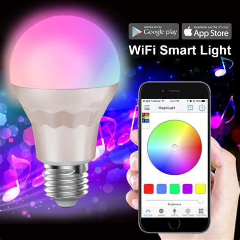 smart lights with smart lighting style smart led light bulb smart