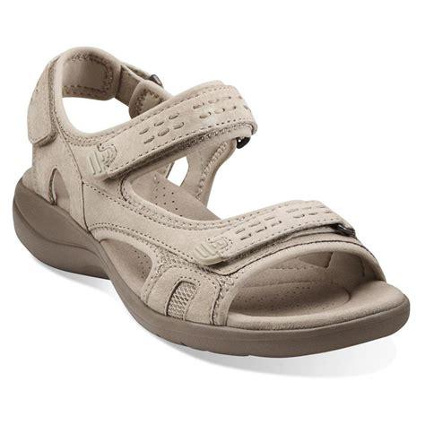 clark shoes sandals turnshoeson clarks women s morse tour sandals in grey