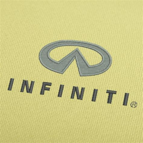 embroidery pattern logo infiniti logo embroidery design for instant download