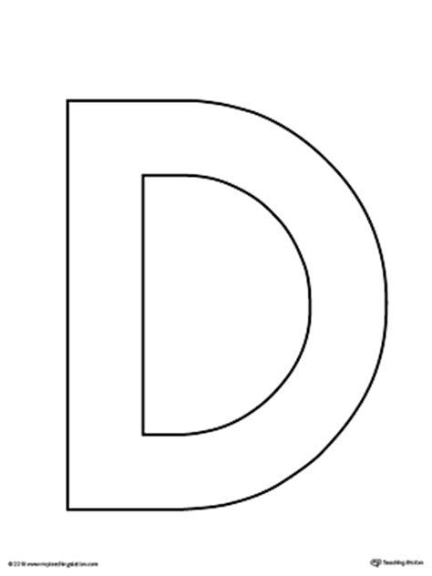 printable large letter d letter d writing steps mat printable myteachingstation com