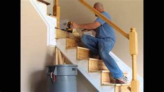 How To Replace A Banister Stair And Rail Renovation Spring 2012 Youtube