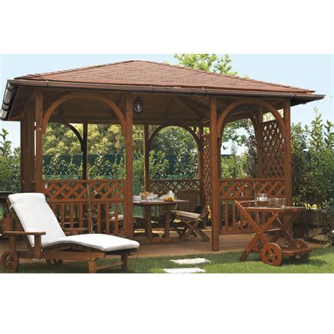 gazebi legno gazebo con tetto in legno il ceppo realizzabile a misura
