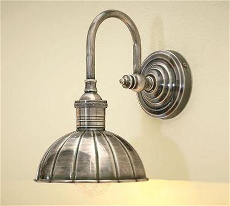 Pottery Barn Bathroom Lights Vintage Single Sconce Pottery Barn