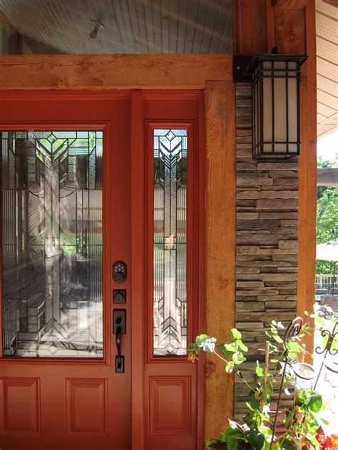 orange front door burnt orange doors pinterest