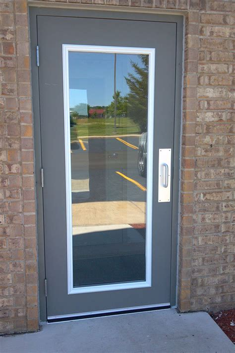 Steel Door Installation by Steel Service Doors Chicago Commercial Steel Door