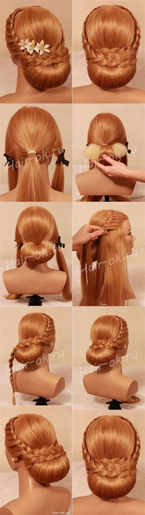 diy evening hairstyles diy beautiful evening hairstyle beautiful shoes