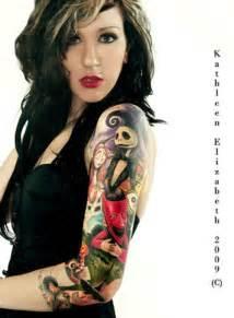 female tattoo sleeves 30 cool sleeve tattoos for girls creativefan