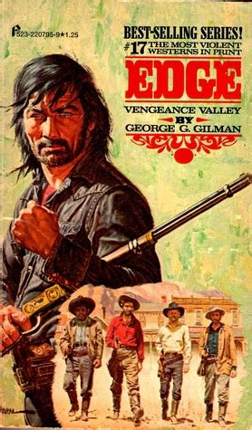 vengeance at a dagger s edge books vengeance valley edge 17 by george g gilman reviews