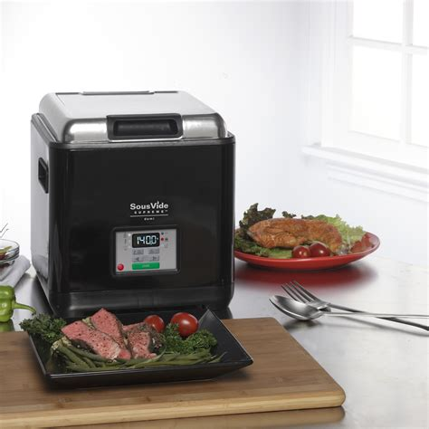 sous vide supreme demi water oven sous vide supreme touch of modern