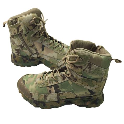 Sepatu S Desert Camouflage Tactical Boots Outdoor cp camouflage tactical boots desert combat army combat shoes breathable tactical army