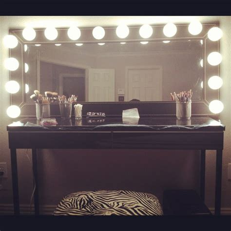 Mirrored Make Up Vanity by Makeup Vanity Mirror Build A Closet Room