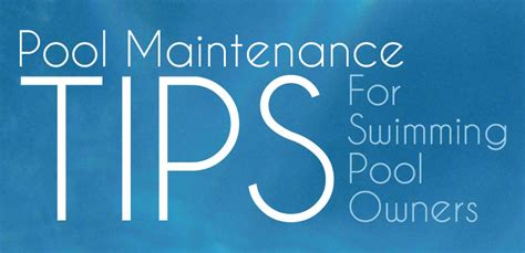 pool maintenance tips simple pool maintenance steps for a sparkling clean pool