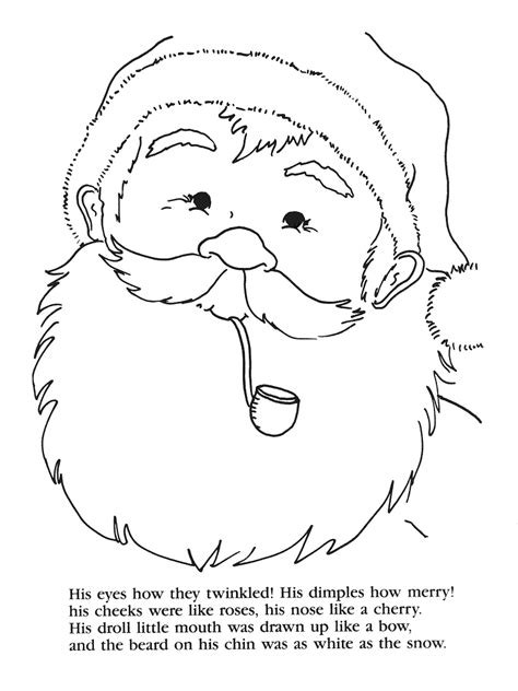 coloring pages for twas the night before thanksgiving twas the night before christmas color sheet new calendar