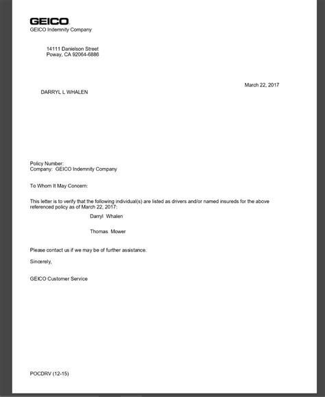 Policy Cancellation Letter Geico Creating Resume From Linkedin Free Sle Resume For Accounting Exles Of Resume