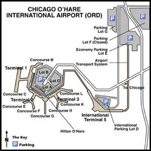 Chicago O Hare Parking Map by Cheap Airfare Tickets Discount Flights To Chicago Ohare