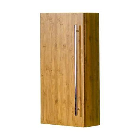 schmaler wandschrank neu exkl badezimmer h 228 ngeschrank bambus massiv