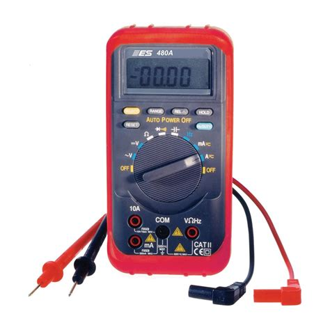 Automotive Multimeter auto ranging digital multimeter esi 480a