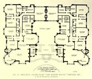 Manor Floor Plans by Floor Plan Of The Manor House Chicago Floor Plans