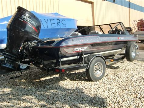 used fish and ski boats in wisconsin stratos 278 fish n ski 1995 used boat for sale in