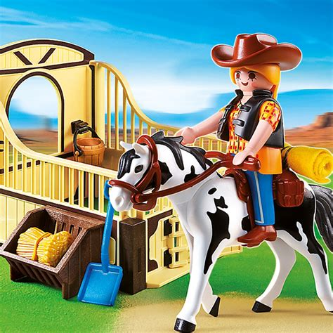 playmobil stall playmobil country rodeo with stall 5516