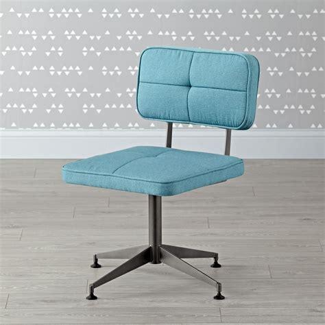 aqua tufted desk chair the land of nod