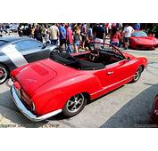 Red Karmann Ghia  BenLevycom