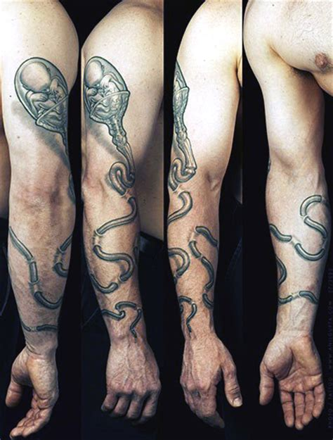 nerdy tattoos top 100 best science tattoos for manly design ideas