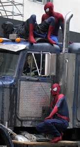 spiderwalk the high and daring stunts of a small town from arkansas books andrew garfield and two stunt doubles hang around set