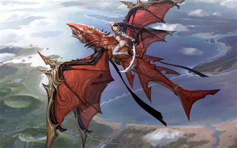 anime dragon girl wallpaper anime dragon flying hd wallpaper download hd anime