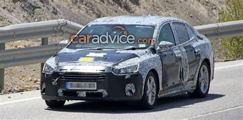 2018 ford sedan 2018 ford focus sedan spied photos 1 of 5