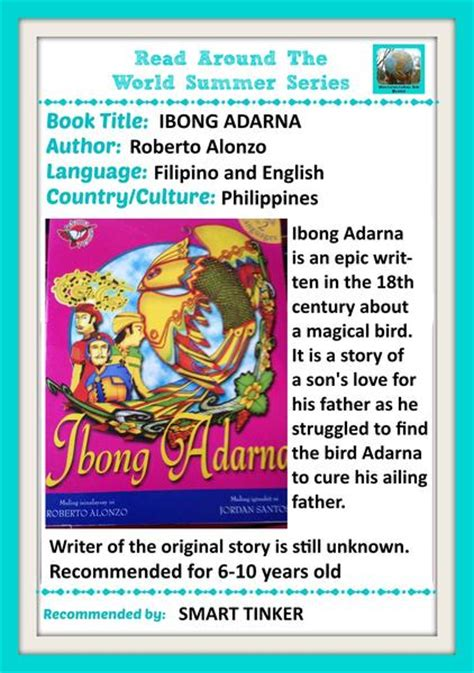 Ibong Adarna Book Report Tagalog by Weekend Links Multicultural Books Links For Jump Into A Book